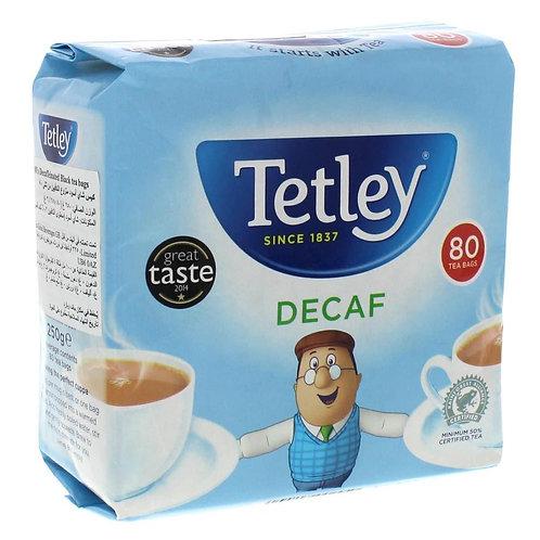 Tetley Tea Bags Decaf 80 Pack
