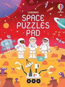 Usborne Space Puzzles Pad