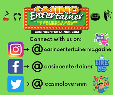 Casino Entertainer Social Media Accounts
