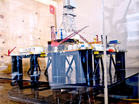 """How a Model Oil Rig was Saved by University Staff... and Found a New Home in Norway"""