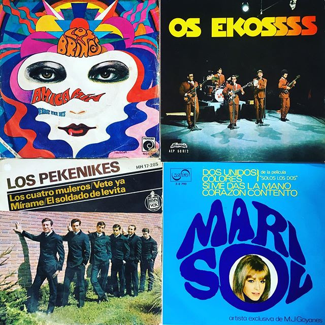 A very psychedelic Round 2 of Spanish & Portuguese vinyl