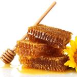 Мёд в сотах, 145 рамка.