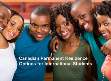 Canadian Permanent Residence Options for International Students