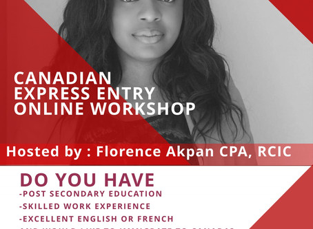 Canadian Express Entry Online Workshop