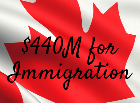 $440M Planned for Immigration