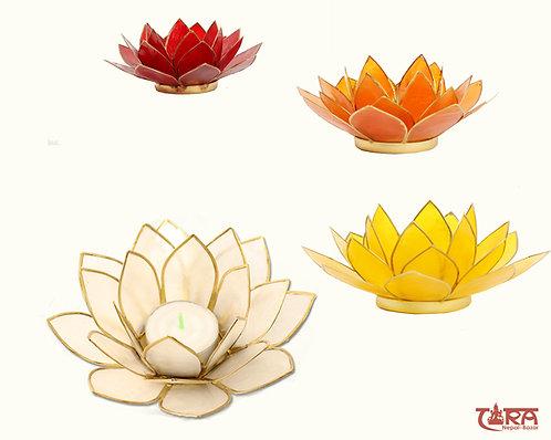 Lotusblume Teelichthalter - Chakren