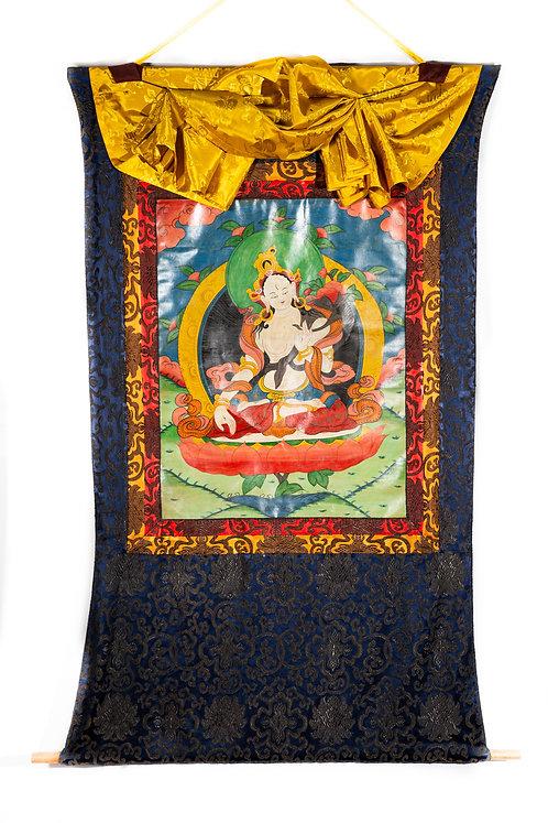 Thangka - Weiße Tara