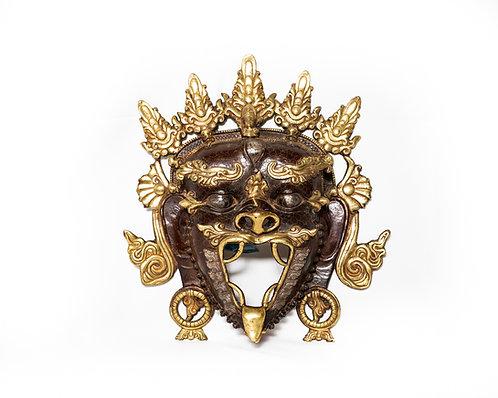 Maske aus Bronze