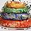 Thumbnail: Runde Kissen für Klangschalen aus Seidenbrokat