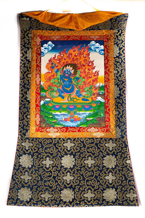 Thangka - Dharmapala Vajrapani