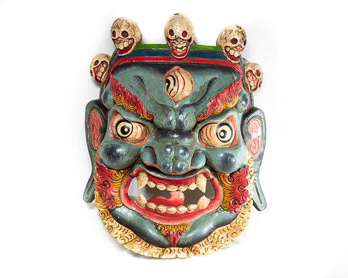Maske aus Holz