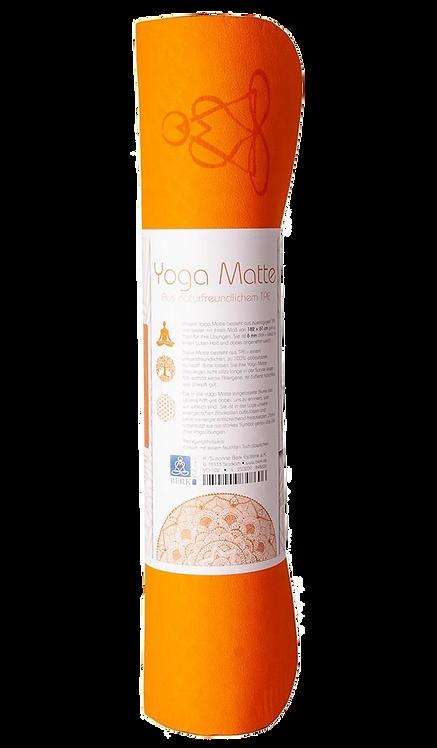 YOGA-Matte ecofriendly 6mm zweischichtig