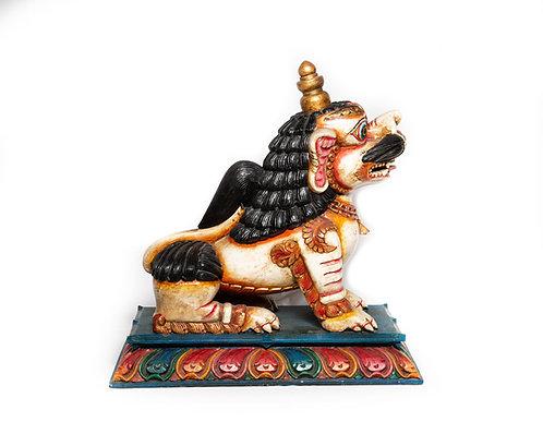 Schneelöwe (Tempelhund)