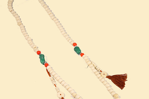 Mala aus Tibetanischem Yakknochen 70 cm
