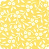 Southern Belles Vines on Yellow 18450