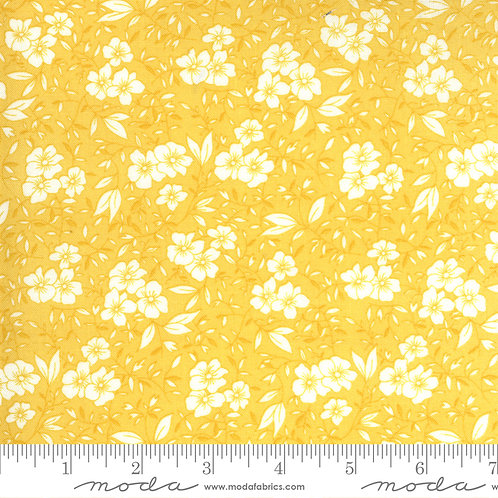 30's Playtime Flowers Yellow