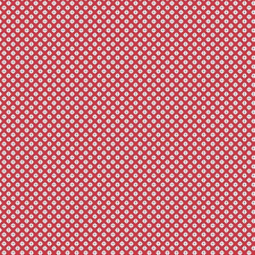 Lottie Ruth Geometric Red 8785