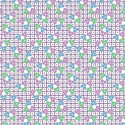 Lottie Ruth Trellis Purple 8779