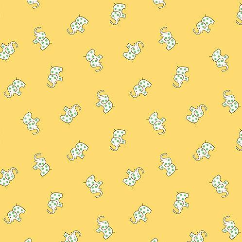 Lottie Ruth Elephants on Yellow 8780