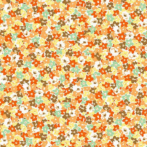 Lottie Ruth Floral Orange 8781