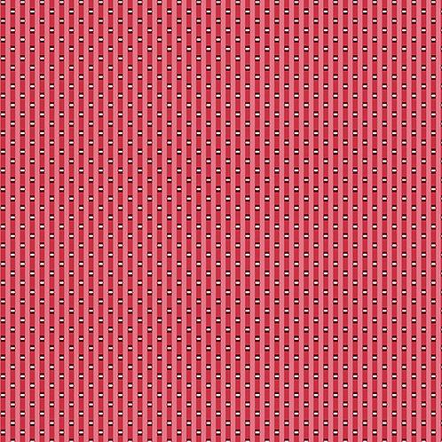 Lottie Ruth Stripe Red 8787