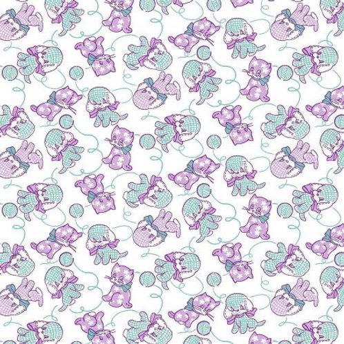 EBTKS XV Furry Critters Lavender