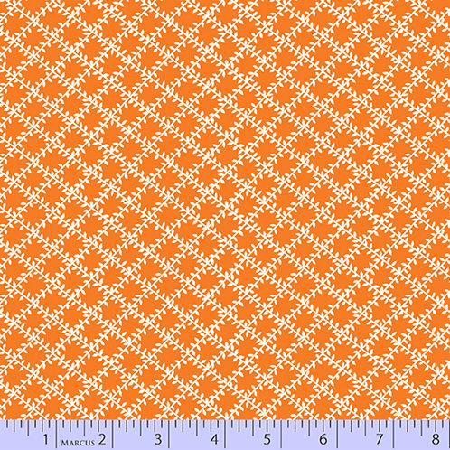 Aunt Grace's Apron-Lattice Orange