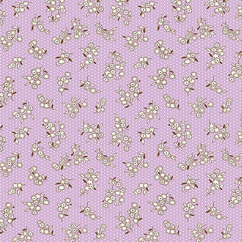 Lottie Ruth Small Flowers on Purple 8782