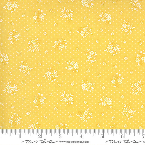 30's Playtime Small Flowers Yellow