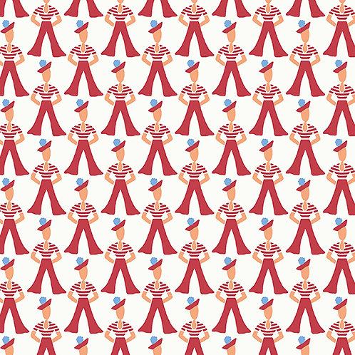 Lottie Ruth Sailors Red 8776