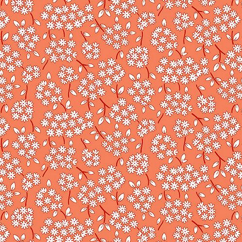 Lottie Ruth Small Daisies Orange 8778