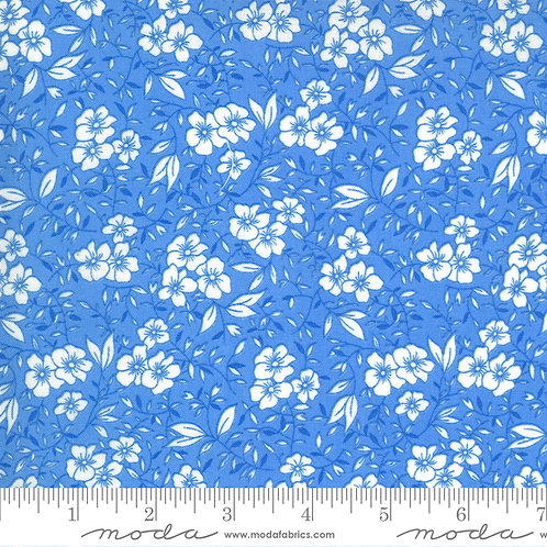 30's Playtime Flowers Blue