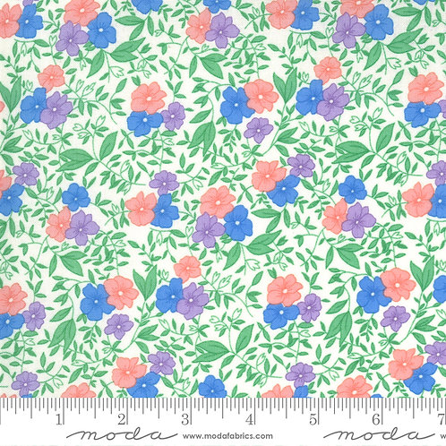 30's Playtime Flowers MultiColor