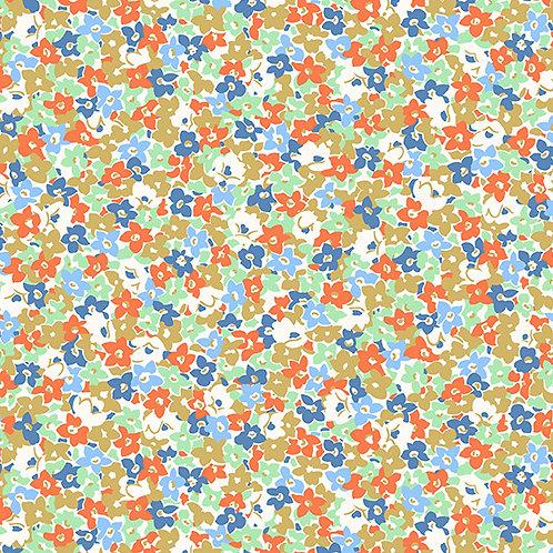 Lottie Ruth Floral Blue 8781