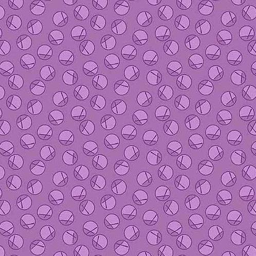 Adeline Purple Circles 8974