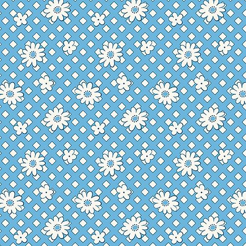 Lottie Ruth Daisies Blue 8777