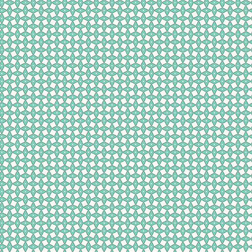 Lottie Ruth Squares Teal 8784