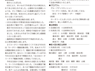 2018年6月11日(第2451回)週報