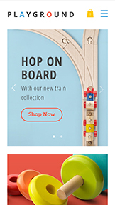 Kinderen en babies website templates – Toy Store