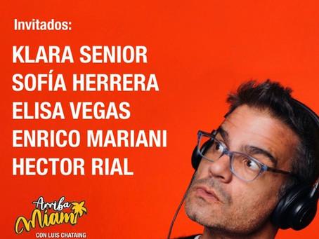 "ENTREVISTA CON LUIS CHATAING - ""ARRIBA MIAMI"" radio"