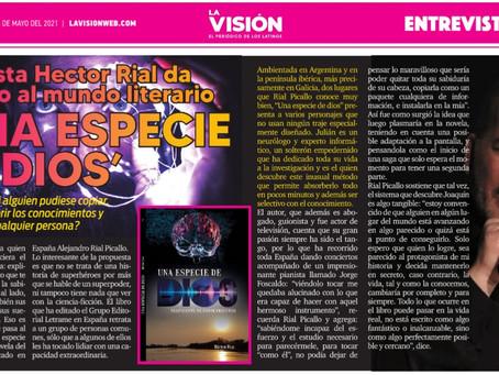 "NOTA PRENSA - ""LA VISIÓN NEWSPEAPER"" EEUU"
