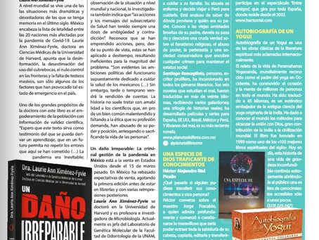 """Recomendación """"PARA TODOS"""" magazine EEUU"""