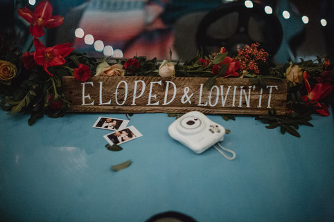California Cruisin': Americana-Inspired Elopement