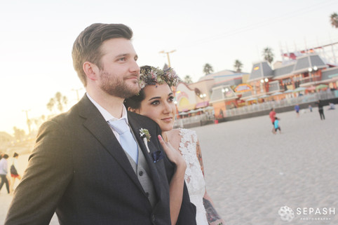t. n. a. beachy brunch wedding   santa cruz, ca