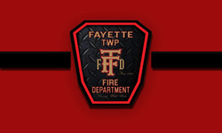FAYETTE TOWNSHIP OHIO OH FIRE PATCH