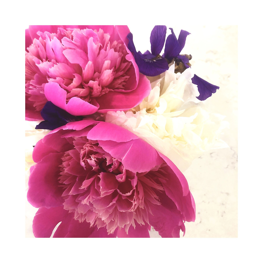Peonies & Irises