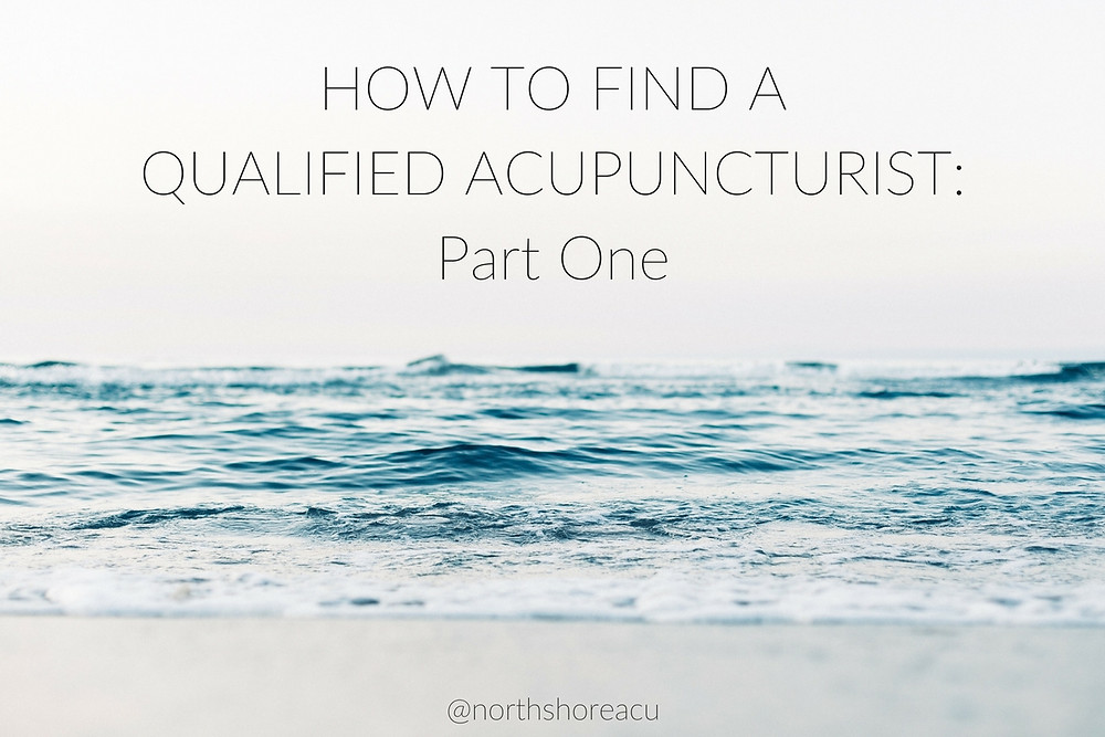 How to find a qualified acupuncturist