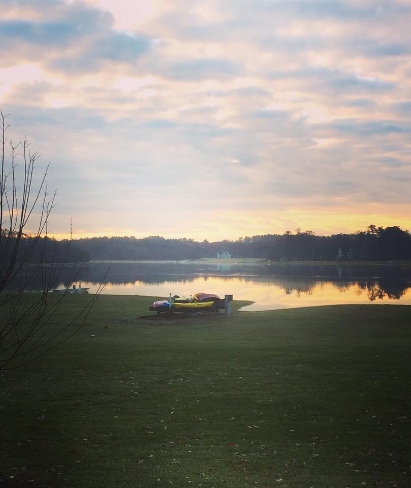 An acupuncturist's morning commute in Amesbury
