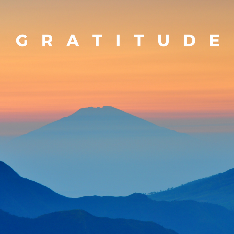 Practice gratitude to improve your health.