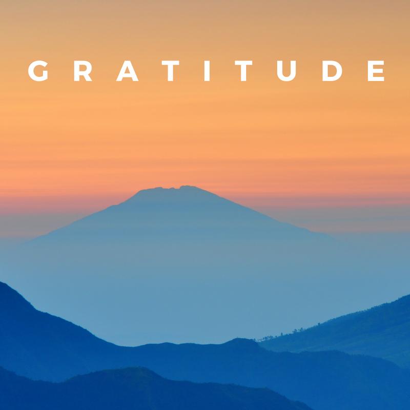 Practice gratitude to improve your health.